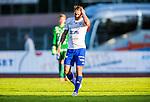 Uppsala 2014-06-26 Fotboll Superettan IK Sirius - IFK V&auml;rnamo :  <br /> V&auml;rnamos P&auml;r Cederqvist deppar<br /> (Foto: Kenta J&ouml;nsson) Nyckelord:  Superettan Sirius IKS Studenternas IFK V&auml;rnamo depp besviken besvikelse sorg ledsen deppig nedst&auml;md uppgiven sad disappointment disappointed dejected