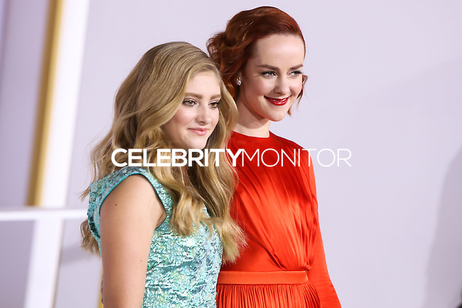 LOS ANGELES, CA, USA - NOVEMBER 17: Willow Shields, Jena Malone arrive at the Los Angeles Premiere Of Lionsgate's 'The Hunger Games: Mockingjay, Part 1' held at Nokia Theatre L.A. Live on November 17, 2014 in Los Angeles, California, United States. (Photo by Xavier Collin/Celebrity Monitor)
