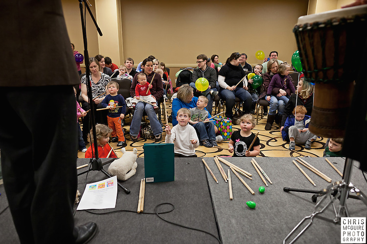 02/12/12 - Kalamazoo, MI: Kalamazoo Baby & Family Expo.  Photo by Chris McGuire.  R#16
