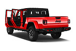 Car images close up view of a 2020 Jeep Gladiator Rubicon 4 Door Pick Up doors
