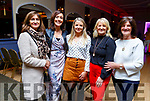 Veronica and Sharon Costello, Grainne Fullen, Geraldine O'Halloran and Joan Sheehan attending the John Mitchels Lip Sync Battle in the Ballygarry House Hotel on Sunday night.