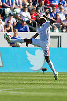 Carson, CA - Sunday, February 8, 2015 Gyasi Zardes (20) of the USMNT. The USMNT defeated Panama 2-0 during an international friendly at the StubHub Center.
