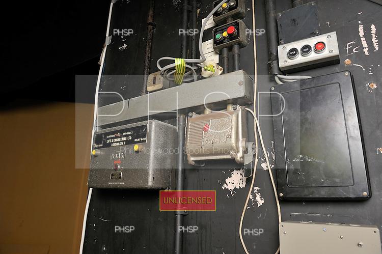 Backstage controls