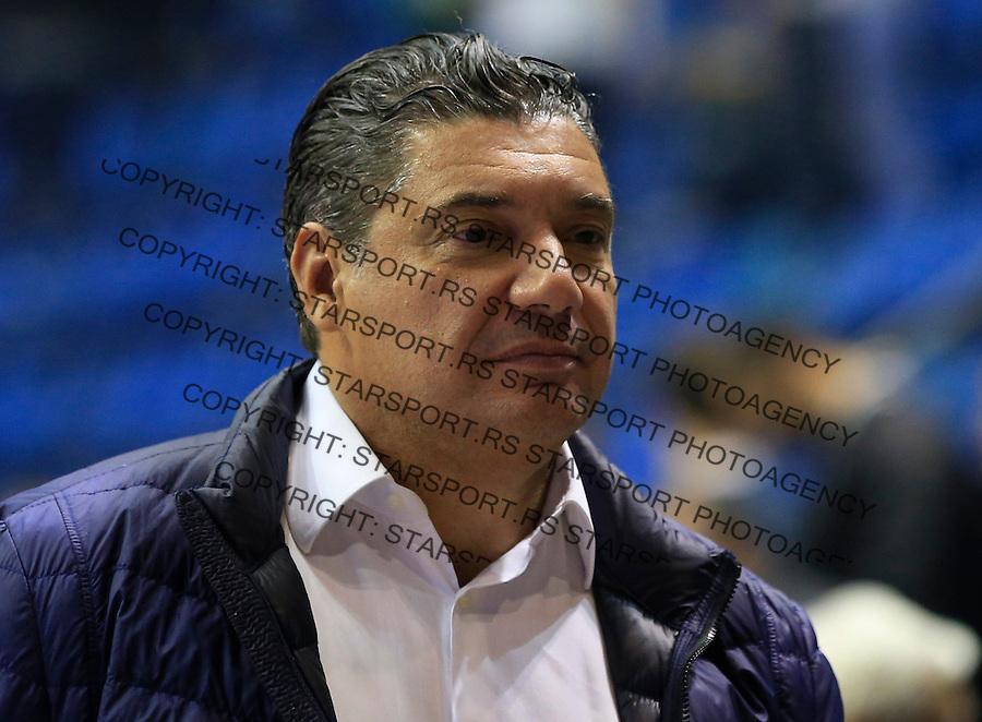 Kosarka ABA League season 2015-2016<br /> Crvena Zvezda v Partizan<br /> manager menadzer Misko Raznatovic<br /> Beograd, 03.11.2015.<br /> foto: Srdjan Stevanovic/Starsportphoto&copy;