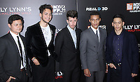 NEW YORK, NY-October 14:Arturo Castro, Barney Harris, Beau Knapp,Ismael Cruz Cordova, Mason Lee at NYFF54 Special Wortldf Premiere Presentation Billy Lynn's Halftime Walk at AMC Lincoln Square in New York.October 14 , 2016. Credit:RW/MediaPunch
