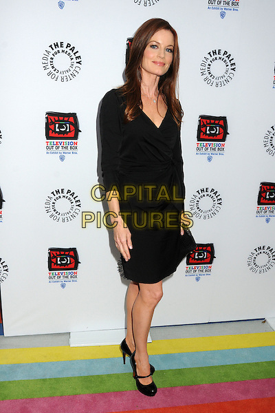 "Laura Leighton.""Television: Out Of The Box"" Museum Exhibit created by Warner Bros. Television Group held at The Paley Center, Beverly Hills, California, USA..April 12th, 2012.full length dress black  .CAP/ADM/BP.©Byron Purvis/AdMedia/Capital Pictures."