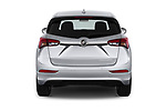 Straight rear view of a 2019 Buick Envision Preferred FWD 5 Door SUV stock images