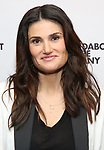 """Idina Menzel attends the Cast Photo Call for The Roundabout Theatre Company production of """"Skintight"""" at the American Airlines Theatre on May 16, 2018 in New York City."""