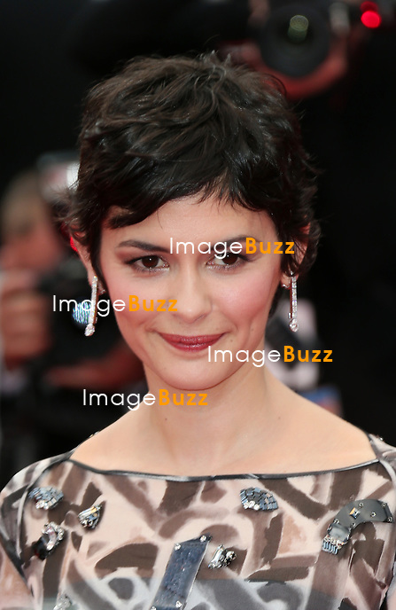 CPE/ Audrey Tautou attend the Opening ceremony and the 'Grace of Monaco' Premiere during the 67th Annual Cannes Film Festival on May 14, 2014 in Cannes, France