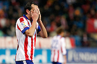 Godin of Atletico de Madrid during La Liga match between Atletico de Madrid and Villarreal at Vicente Calderon stadium in Madrid, Spain. December 14, 2014. (ALTERPHOTOS/Caro Marin) /NortePhoto