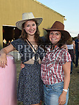 Catriona Franck and Sinead Dunning at the NECRET Barn Dance in Cushinstown AC. Photo:Colin Bell/pressphotos.ie