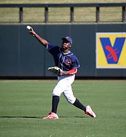 Ronny Ramirez participates in the MLB International Showcase at Salt River Fields on November 12-14, 2019 in Scottsdale, Arizona (Bill Mitchell)