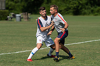 Rome, GA - Friday, June 21, 2019:  Joshua Brunais, Stuart Sharp during a Para 7 USMNT training session.