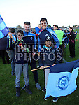 Hugo, Adam, Luke and Jeaic at Colmcilles V Dunderry,  Meath Intermediate Final Replay at P&aacute;irc Tailteann, Navan.<br /> <br /> <br /> Photo - Jenny Matthews