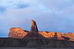 Bottleneck Peak at sunrise on the San Rafael Swell in south central Utah.