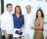 The Nuti Family Attend The 2nd Annual Compound Foundation Benefit Honoring Academy Award-Winning Actor Louis Gossett, JR, Celebrity Photographer Johnny Nunez, Cartoon Network President & COO Stuart C. Snyder hosted by Ne-Yo and Kevin Hart Held at Private Location in East Hamptons, NY