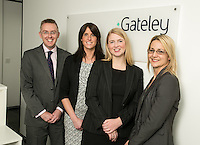 Pictured left to right is Scott McKittrick, Jenny Colver, Melissa Chantrill and Su Garner