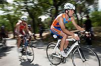30 MAY 2009 - MADRID,ESP - Antoli Fauria Torrent - Spanish Triathlon Championships (PHOTO (C) NIGEL FARROW)