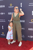 LOS ANGELES - OCT 8:  Busy Philipps, Cricket Pearl Silverstein at the P.S. ARTS' Express Yourself 2017 at the Barker Hanger on October 8, 2017 in Santa Monica, CA