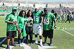 DENTON, TX - OCTOBER 27: University North Texas Mean Green Football v. Rice University at Apogee Field in Denton October 27, 2018 in Denton, Texas. Photo: Rick Yeatts