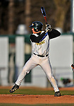 15 April 2008: University of Vermont Catamounts' infielder Justin Milo, a Sophomore from Edina, MN, in action against the Dartmouth College Big Green at Historic Centennial Field in Burlington, Vermont. The Catamounts rallied from a 7-3 deficit going into the bottom of the ninth, to tie and then win in the tenth: 8-7 over Dartmouth in a non-conference NCAA game...Mandatory Photo Credit: Ed Wolfstein Photo