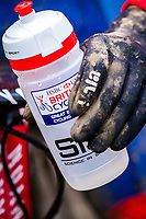 Picture by Alex Whitehead/SWpix.com - 04/02/2018 - Cycling - 2018 UCI Cyclo-Cross World Championships - Valkenburg, The Netherlands - Great Britain, Branding, Kalas, Mud, Science in Sport, SIS.