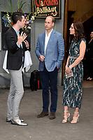Nils Jürgens, Prinz William und Catherine, Herzogin von Cambridge beim Besuch der britischen Royals im Tanzlokal und Restaurant Clärchens Ballhaus. Berlin, 20.07.2017
