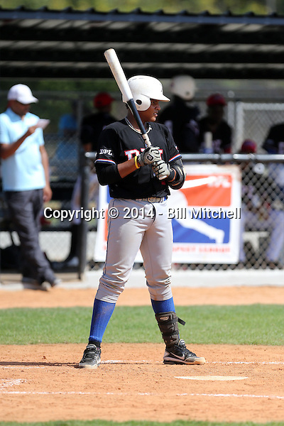 Ismerling Mota / Ismerlin Mota participates in the Dominican Prospect League 2014 Louisville Slugger Tournament at the New York Yankees academy in Boca Chica, Dominican Republic on January 20-21, 2014 (Bill Mitchell)