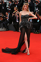 "VENICE, ITALY - AUGUST 28: Martha Hunt walks the red carpet ahead of the Opening Ceremony and the ""La Verite"" (The Truth) screening during the 76th Venice Film Festival at Sala Grande on August 28, 2019 in Venice, Italy., 2019 in Venice, Italy. (Photo by Marck Cape/Inside Foto)<br /> Venezia 28/08/2019"