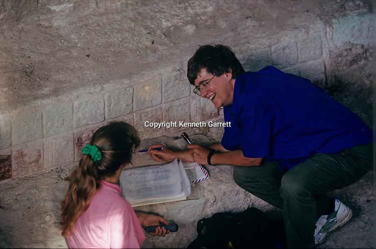 MM5571; Maya; Copan; Ante Temple, Hieroglyphic Staircase,  Mayan; Honduras, Linda Schele, Barbara Fash