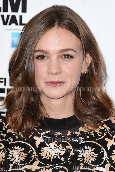 Actress Carey Mulligan at the photocall for her movie &quot;Suffragette&quot; at the Lanesborough Hotel, Knightsbridge, London.<br /> October 7, 2015  London, UK<br /> Picture: Steve Vas / Featureflash