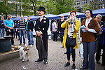 24.4.2015, Berlin. Israeltag auf dem Wittenbergplatz in Berlin. Henry de Winter
