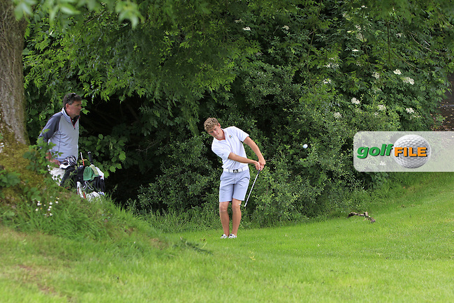 Cathal Nolan (Galway) on the 12th during Round 3 of the 2016 Connacht Strokeplay Championship at Athlone Golf Club on Sunday 12th June 2016.<br /> Picture:  Golffile | Thos Caffrey