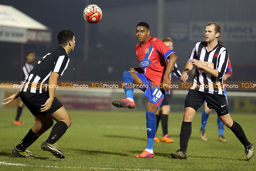 Dagenham & Redbridge vs Heybridge Swifts, BBC Essex Senior Cup Football at the Chigwell Construction Stadium on 6th December 2016