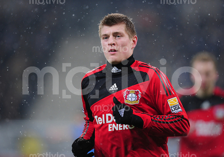 Fussball 1. Bundesliga   Saison   2009/2010  19. Spieltag  24.01.2010 1899 Hoffenheim -  Bayer Leverkusen Toni Kroos  (Bayer)