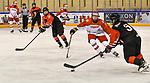 06.01.2020, BLZ Arena, Füssen / Fuessen, GER, IIHF Ice Hockey U18 Women's World Championship DIV I Group A, <br /> Japan (JPN) vs Daenemark (DEN), <br /> im Bild Makoto Ito (JPN, #18), Frederikke Foss (DEN, #5), Haruna Nomura (JPN, #3)<br /> <br /> Foto © nordphoto / Hafner