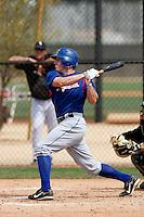 Matt Lawson -Texas Rangers - 2009 spring training.Photo by:  Bill Mitchell/Four Seam Images