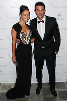 LOS ANGELES, CA - JANUARY 11: Cara Santana, Jesse Metcalfe at The Art of Elysium's 7th Annual Heaven Gala held at Skirball Cultural Center on January 11, 2014 in Los Angeles, California. (Photo by Xavier Collin/Celebrity Monitor)