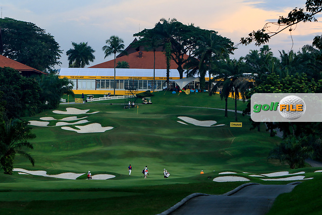 A view looking up the 2nd fairway during Round 1 of the Maybank Championship at the Saujana Golf and Country Club in Kuala Lumpur on Thursday 1st February 2018.<br /> Picture:  Thos Caffrey / www.golffile.ie<br /> <br /> All photo usage must carry mandatory copyright credit (© Golffile   Thos Caffrey)