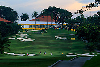 A view looking up the 2nd fairway during Round 1 of the Maybank Championship at the Saujana Golf and Country Club in Kuala Lumpur on Thursday 1st February 2018.<br /> Picture:  Thos Caffrey / www.golffile.ie<br /> <br /> All photo usage must carry mandatory copyright credit (© Golffile | Thos Caffrey)