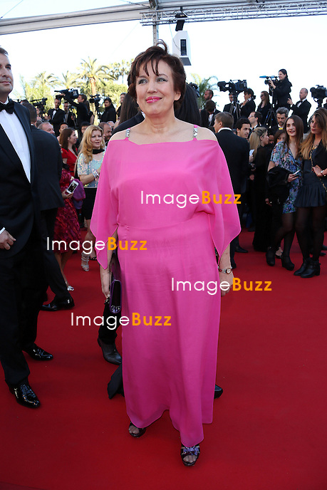CPE/Roseline Bachelot attends the 'La Venus A La Fourrure' premiere during The 66th Annual Cannes Film Festival at the Palais des Festivals on May 25, 2013 in Cannes, France.