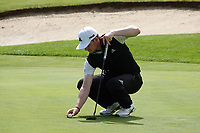 Connor Syme (SCO) in action during previews ahead of the Hauts de France-Pas de Calais Golf Open, Aa Saint-Omer GC, Saint- Omer, France. 12/06/2019<br /> Picture: Golffile | Phil Inglis<br /> <br /> <br /> All photo usage must carry mandatory copyright credit (© Golffile | Phil Inglis)