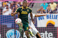 CARSON, Calif. - Sunday, October 18, 2015: The Portland Timbers defeat the Los Angeles Galaxy 5-2 during Major League Soccer (MLS) play at StubHub Center stadium.