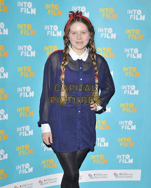 LONDON, ENGLAND - MARCH 24: Jessie Cave attends the Into Film Awards 2015, Empire cinema, Leicester Square, on Tuesday March 24, 2015 in London, England, UK. <br /> CAP/CAN<br /> &copy;CAN/Capital Pictures