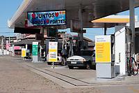 Campinas (SP), 23/03/2020 - POSTO DE COMBUSTIVEL - Informativo sobre o Covid-19 e movimentação em posto de combustivel na cidade de Campinas (SP).