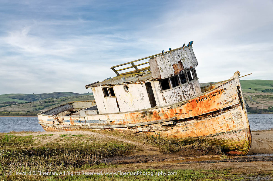 Wreck of the Point Reyes, Tomales Bay, CA