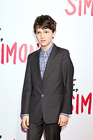 "LOS ANGELES - MAR 13:  Gabriel Bateman at the ""Love, Simon"" Special Screening at Westfield Century City Mall Atrium on March 13, 2018 in Century City, CA"