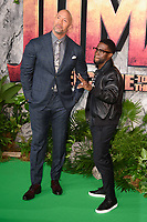Dwayne Johnson and Kevin Hart<br /> arriving for the &quot;Jumanji: Welcome to the Jungle&quot; premiere at the Vue West End, Leicester Square, London<br /> <br /> <br /> &copy;Ash Knotek  D3358  07/12/2017