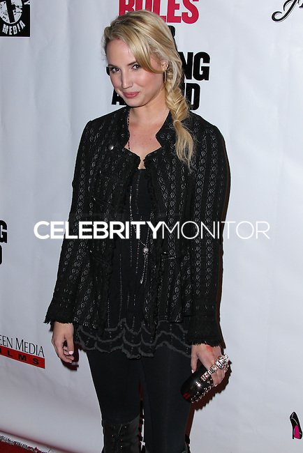 """HOLLYWOOD, LOS ANGELES, CA, USA - APRIL 01: Molly McCook at the Los Angeles Premiere Of Screen Media Films' """"10 Rules For Sleeping Around"""" held at the Egyptian Theatre on April 1, 2014 in Hollywood, Los Angeles, California, United States. (Photo by Xavier Collin/Celebrity Monitor)"""