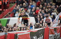 Belgian Champion Klaas Vantornout (BEL/Sunweb-Napoleon Games)<br /> <br /> Jaarmarktcross Niel 2015  Elite Men &amp; U23 race